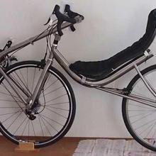 Сделано в Китае, titanium лежачий велосипед рама и вилка, изготовленный на заказ titanium лежачий велосипед рамы вил, дешевые titanium лежачий рамка