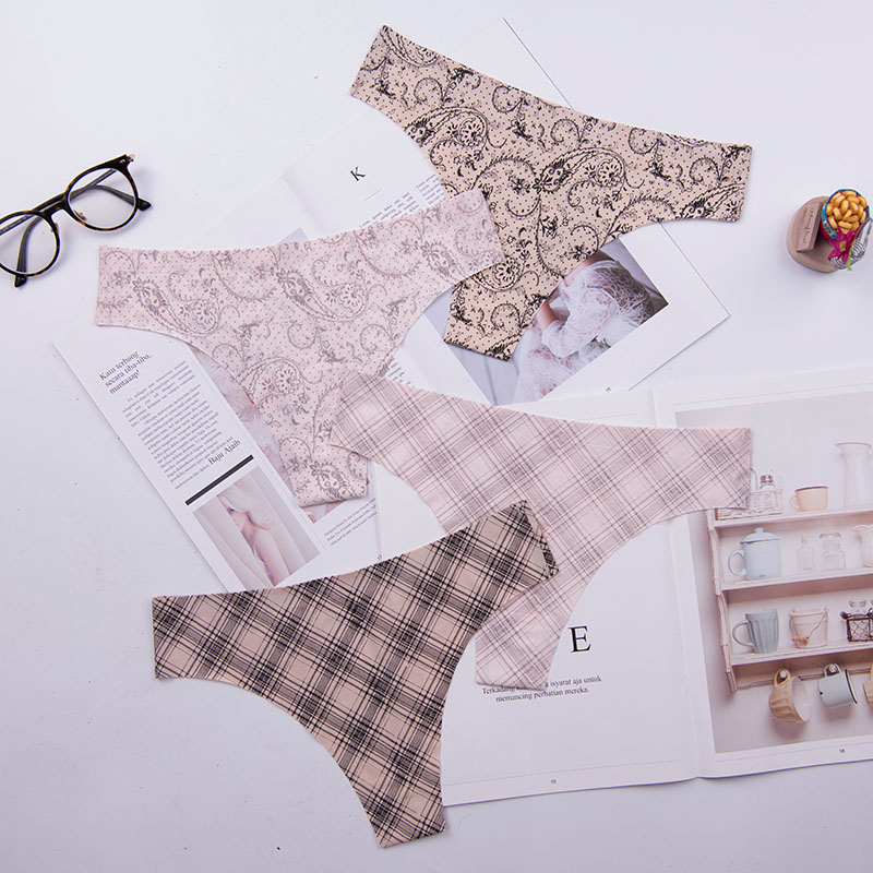 5xl big size women black color sexy underwear ladies underwear panties lingerie bikini ear pants/ thong/g-string 1pcs/lot ac158
