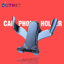 NEW Universal Car Phones Holder For Phone Car Air Vent Clip Mount Mobile Phone Cell Stand Support For iPhone 11 Xiaomi Huawei LG creative f1 racing car style adjustable support holder for mobile phones green
