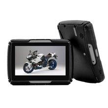 4 type 256M Ram 8Gb Flash 4.3 Inch Moto Gps Navigator Waterp