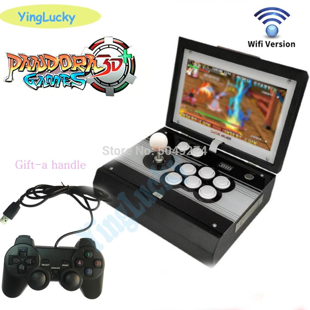 New shipping Portable Arcade Box 10
