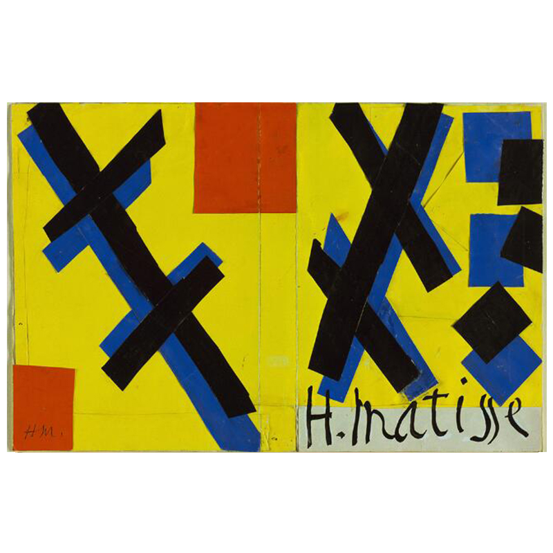 The Dance and Other Abstract Paintings by Henri Matisse Printed on Canvas 8