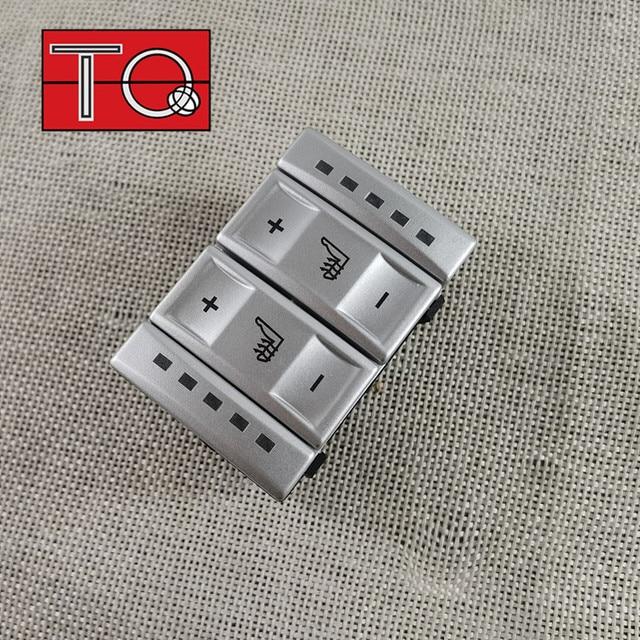 Nova prata & preto assento interruptor de controle botão aquecimento bs7t19k314ab 6m2t19k314ac para ford mondeo mk4 S MAX galaxy mk 3
