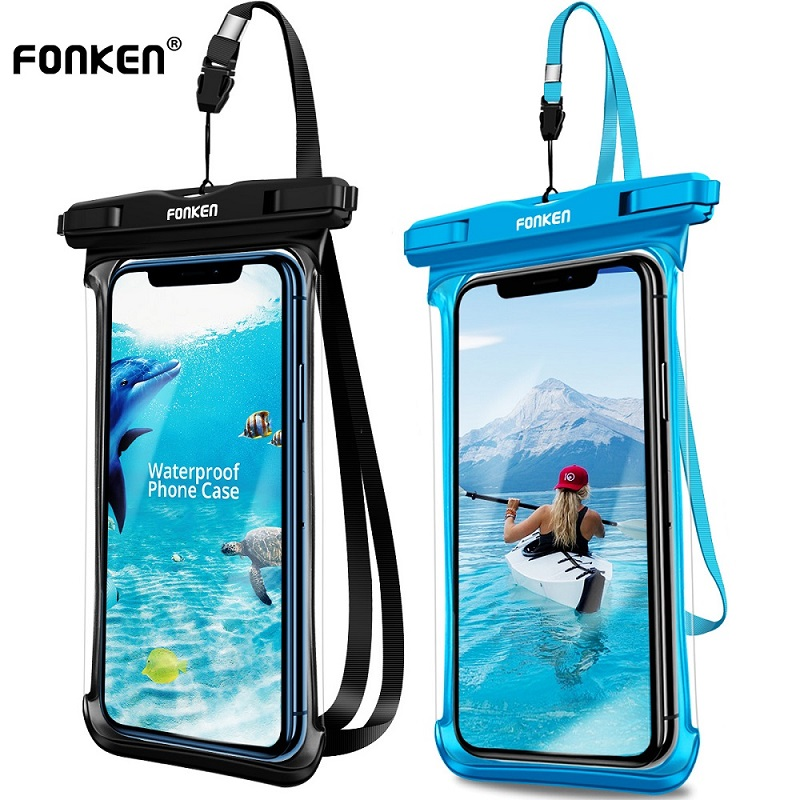 Waterproof Underwater DRY BAG Pouch Case with sensor For Samsung Galaxy A70s