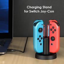 Game Charger Dock Holder Game Entertainment Accessories for Nintend Switch  JoyCon compatible Controller Charging Station
