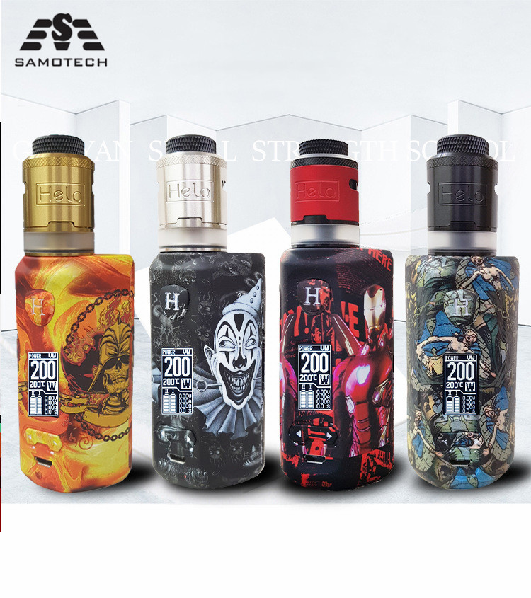 NEW Engeston 200W Adjustable Box Mod Vape Fashion Support Dual 18650 Battery E-Cigarette 510 Thread RDA RTA Vs Thor 200W Box