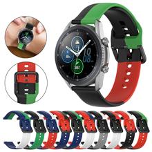 20mm 22mm band Für Samsung Galaxy Uhr 3 strap 45 41 Getriebe S3 46mm 42mm Silikon armband Für Huawei Xiaomi Amazfit GT 2 2e pro cheap CAOWTAN CN (Herkunft) Andere Uhrenarmbänder Neu ohne Etiketten SSB0340