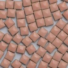 Lychee Life 100 шт разноцветная стеклянная мозаичная плитка квадратная керамическая мозаичная плитка для рукоделия материал для рукоделия