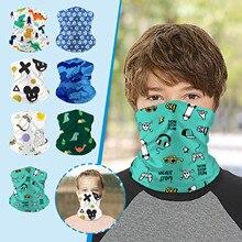 Face-Mask Scarf Children Warm Fashion for Sport Unisex Printed -Y Neck-Gaiter Multipurpose