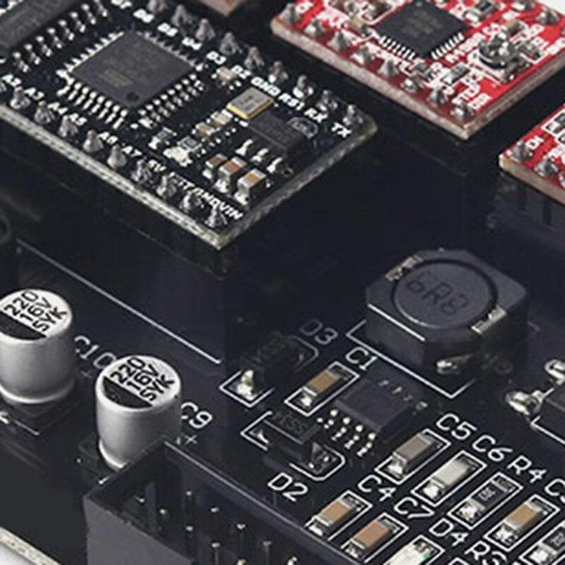 3 eixos cartão de controle cnc peças