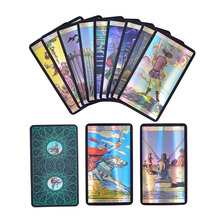 Divination Fate Holographic Tarot Card Waite Tarot Cards Board Games Accessories Fate Tarot card Game Board Game For Girls