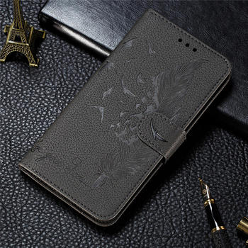 For SAMSUNG A12 A32 Shell Embossed Case For Samsung Galaxy A02S A42 A52 Cover Magnet Wallet Galaxy A01 Core A72 A21s A51 A71 Bag