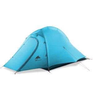 Image 3 - 3F UL GETRIEBE ZhengTu 2 Person Ultraleicht Zelt Einzigen 15D Nylon 3 oder 4 Jahreszeiten Im Freien wasserdichte winddicht Camping Zelt