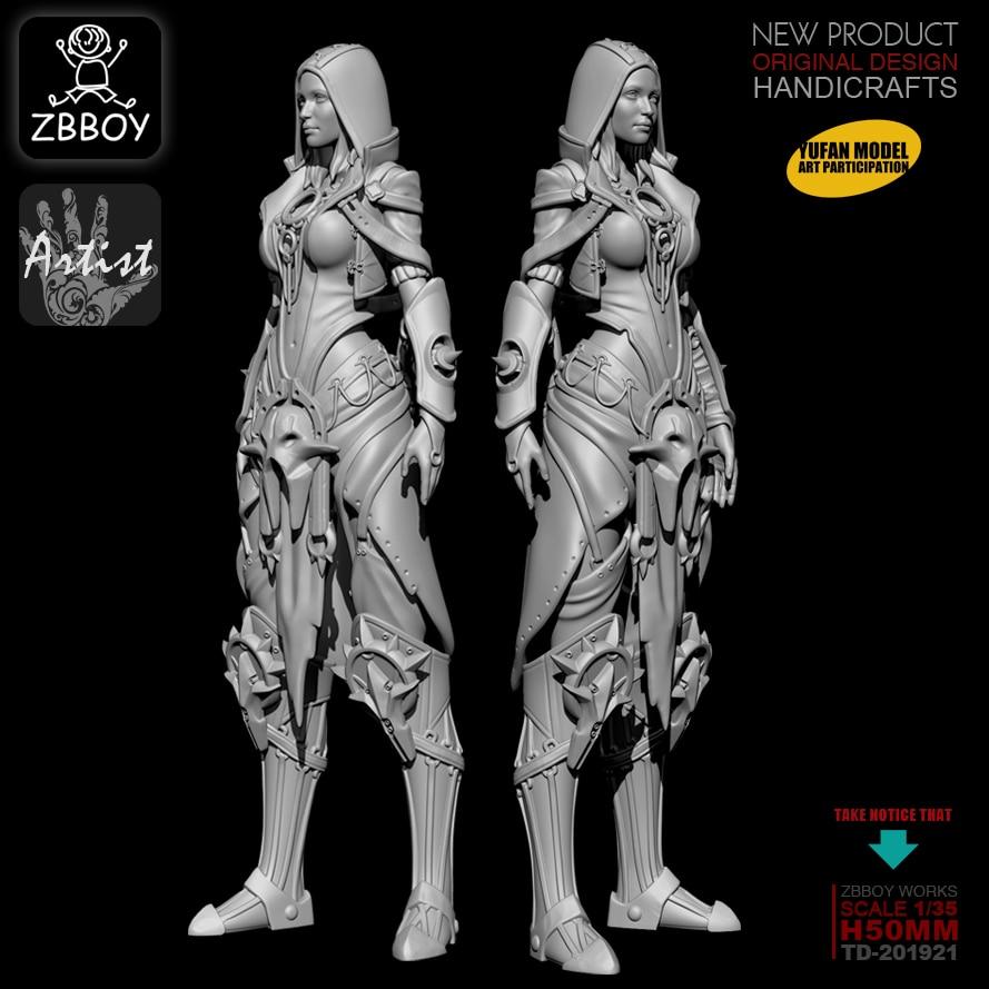 1/32 Resin Kits Magic Altar Resin Soldier Model Self-assembled TD-201921