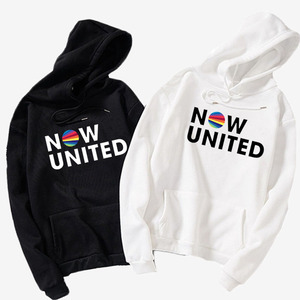 Now United Combination Text Print Hoodies Women's Clothing Harajuku Hoodies and Sweatshirts Streetwear Hoodie Teens sueteres par