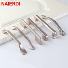 Перламутровые никелевые ручки для шкафов 10 шт