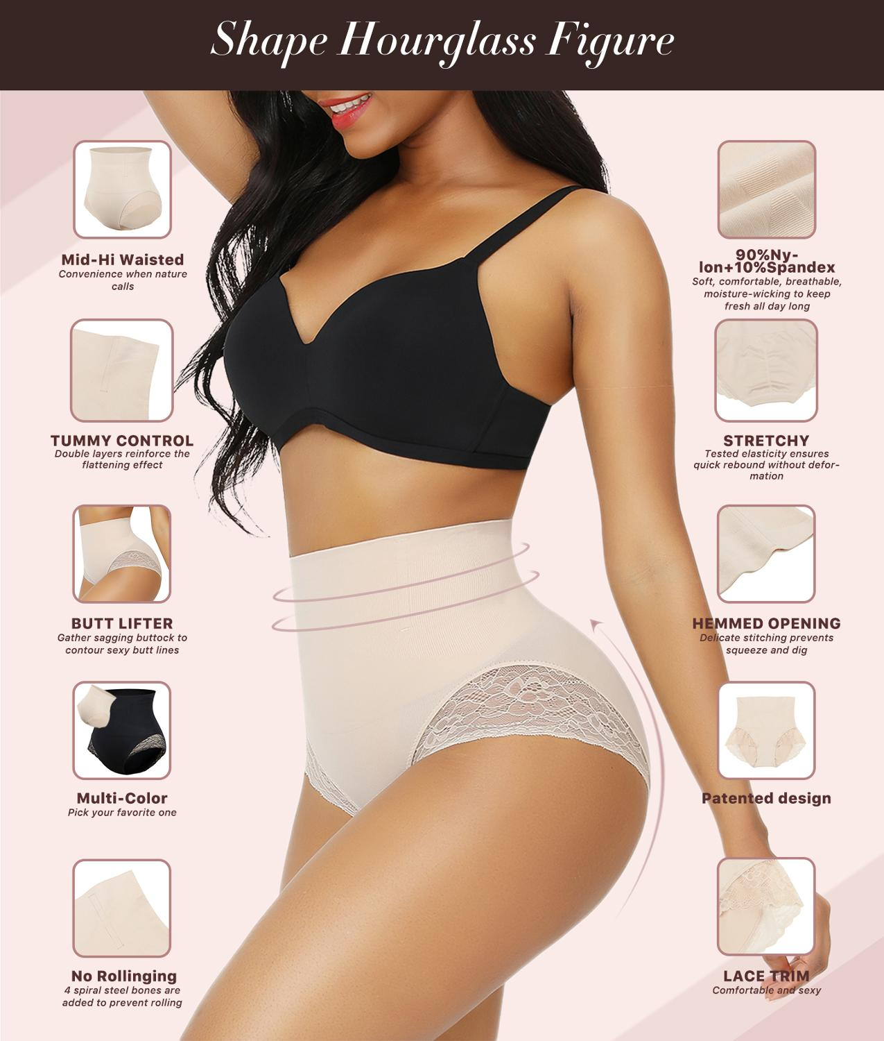 Body Shaper Slimming Tummy Underwear 2