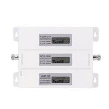Amplificateur de Signal Mobile Walokcon R23A GDW 2G 3G 4G GSM DCS LTE WCDMA 900 1800 2100 répéteur de Signal GSM Tri bande 4G LTE