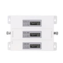 Walokcon R23A GDW נייד אות מאיץ 2G 3G 4G GSM DCS LTE WCDMA 900 1800 2100 Tri Band GSM 4G LTE בוסטרים
