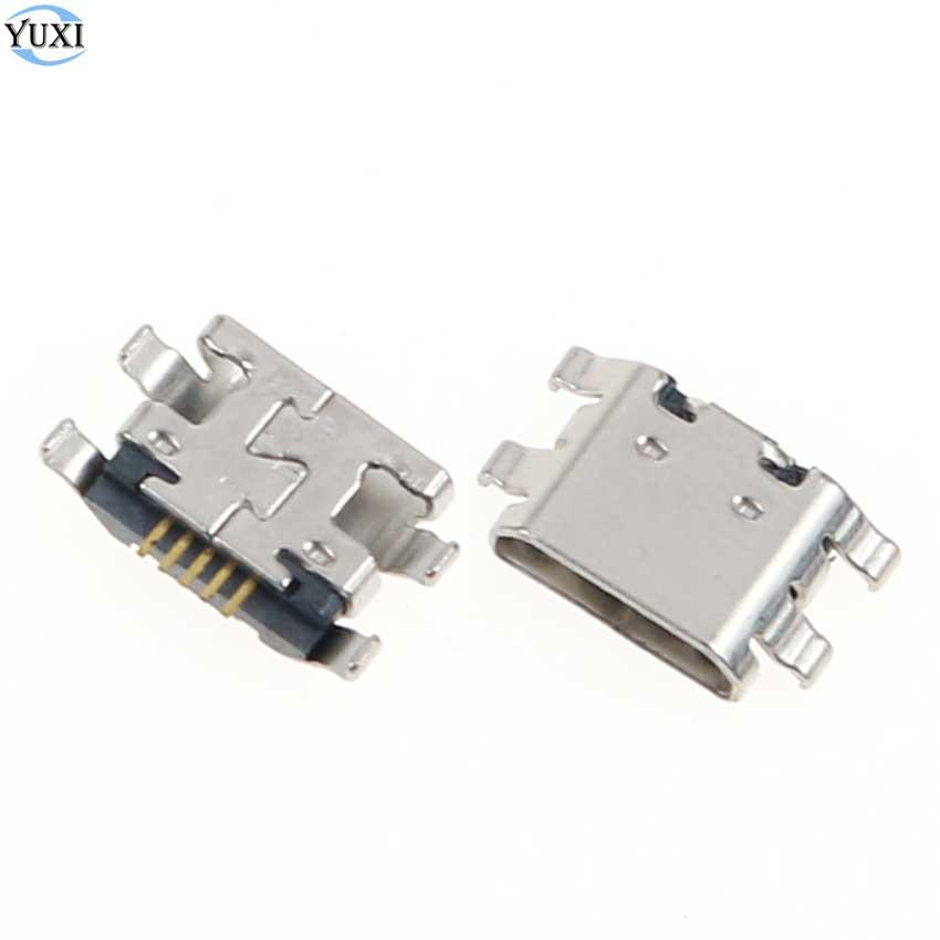 YuXi 10pcs Micro USB Jack Connector Charging Socket Port For Meitu V4 V4S Charger Dock