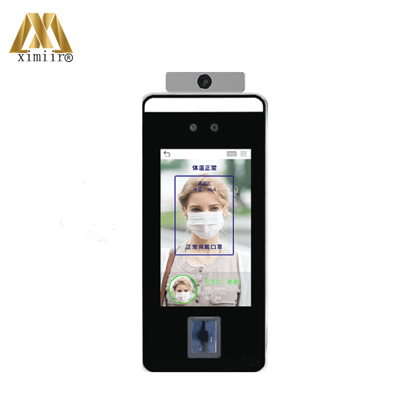 Dynamic Face Palm Recognize Access Control And Time Attendance Support Detectio Body Temperature ZK SpeedFace-V5L Visible Light