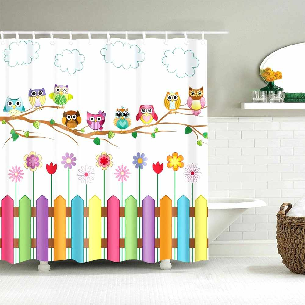 Dafield Kids Bathroom Shower Curtain