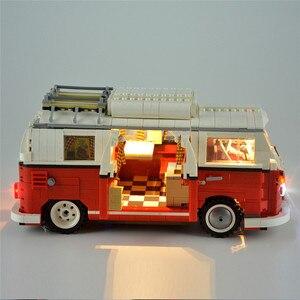 Image 5 - 1354Pcs טכני סדרת T1 חניך ואן 10220 דגם אבני בניין ערכות סט צעצועי לבנים 21001 בלוקים