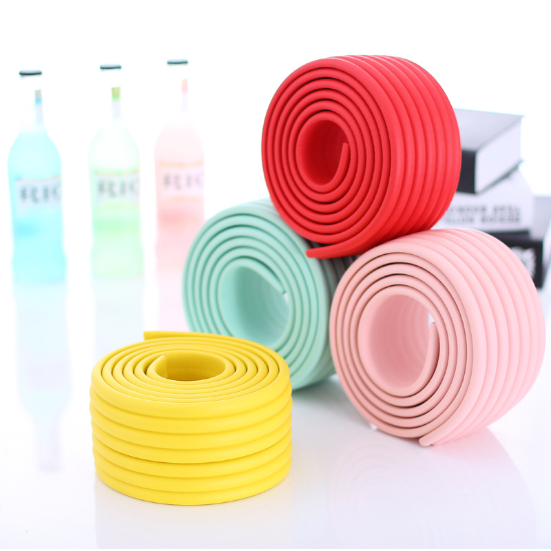 2M Baby Safety Table Desk Edge Guard Home Cushion Protector Safe Protection Children Bar Thicken Bumper Strip With Sticky Tape