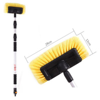 Car Cleaning Tools Car Wash Brush Head for Auto RV Truck Boat Camper Exterior Washing Care