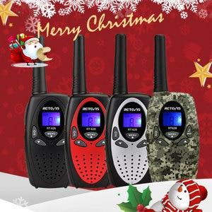Image 1 - RETEVIS RT628 מיני ווקי טוקי ילדים 2pcs 0.5W נייד רדיו של לקמפינג טיולים יום הולדת הווה חג המולד מתנה