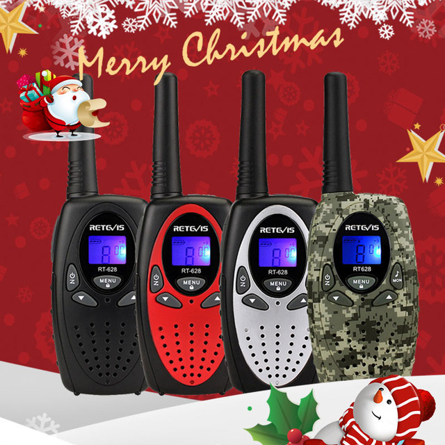 RETEVIS RT628 מיני ווקי טוקי ילדים 2pcs 0.5W נייד רדיו של לקמפינג טיולים יום הולדת הווה חג המולד מתנה