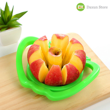 Stainless Steel Fruit Cutter Device Handle Vegetable Tools Kitchen Gadgets Apple Slicer Corer Pear