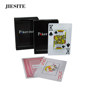 100% Plastic PVC playing card