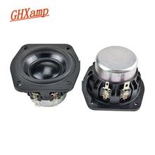 GHXAMP 2 بوصة 4OHM مكبر الصوت المحمول الذي يعمل بالبلوتوث كامل المدى النيوديميوم منخفضة التردد مكبر الصوت لمكبرات الصوت منقطع النظير لتقوم بها بنفسك 2 قطعة