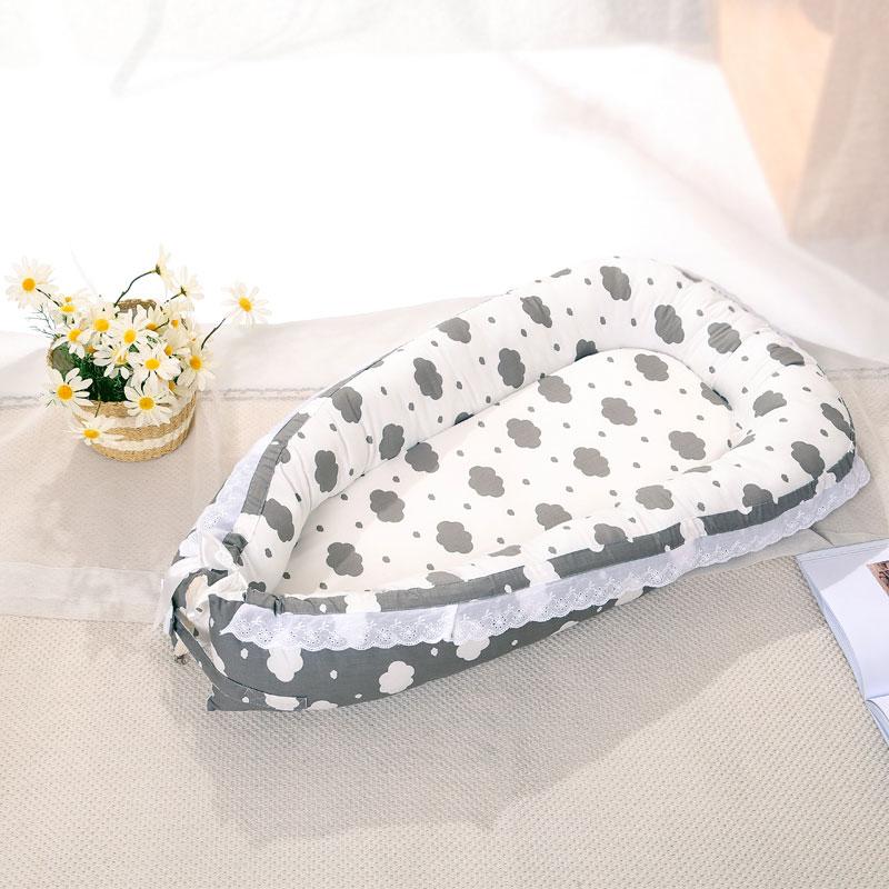 Детское гнездо, детская кроватка, портативная удаляемый моющийся кровать для путешествий, Детская Хлопковая колыбель, Прямая поставка