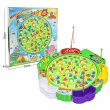 Fishing-Toys Electric-Rotating Magnetic Outdoor Kids Children Play-Game for Gifts Musical