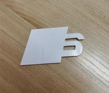 50X Metalen S Logo Sline Embleem Badge Auto Sticker Rood Voor Achter Boot Deur Side Fit Voor Audi Tt SQ5 s6 S7 A4 Accessoires