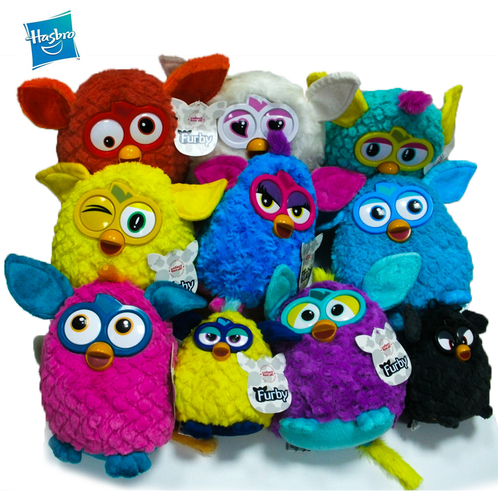 Hasbro Electronic Pets Furby Talking Interactive Owl Plush Dolls Music Recording Toy For Children Gift 10cm
