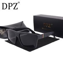 2019 DPZ fashion Luxury Brand Design men driving Polarized sunglasses Gafas ocul