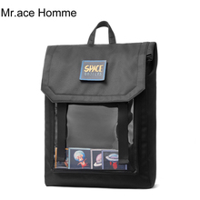 Space Style Large 15inch Laptop Backpack Men Travel Backpacks Women School Bag F