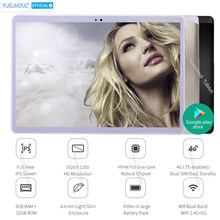 Heiße Verkäufe HD Auflösung 1920*1200 IPS 2,5 D Gehärtetem Glas tablet 3G/4G LTE 10 zoll Tablet Wifi MT6753 Dual SIM karte GPS Tablet