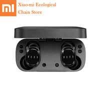 Xiaomi fiil t1x verdadeiro esportes sem fio bluetooth fones de ouvido bluethooth 5.0 fone de redução ruído com controle toque microfone