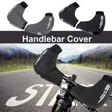 Зимние ветрозащитные теплые защитные перчатки для горных велосипедов