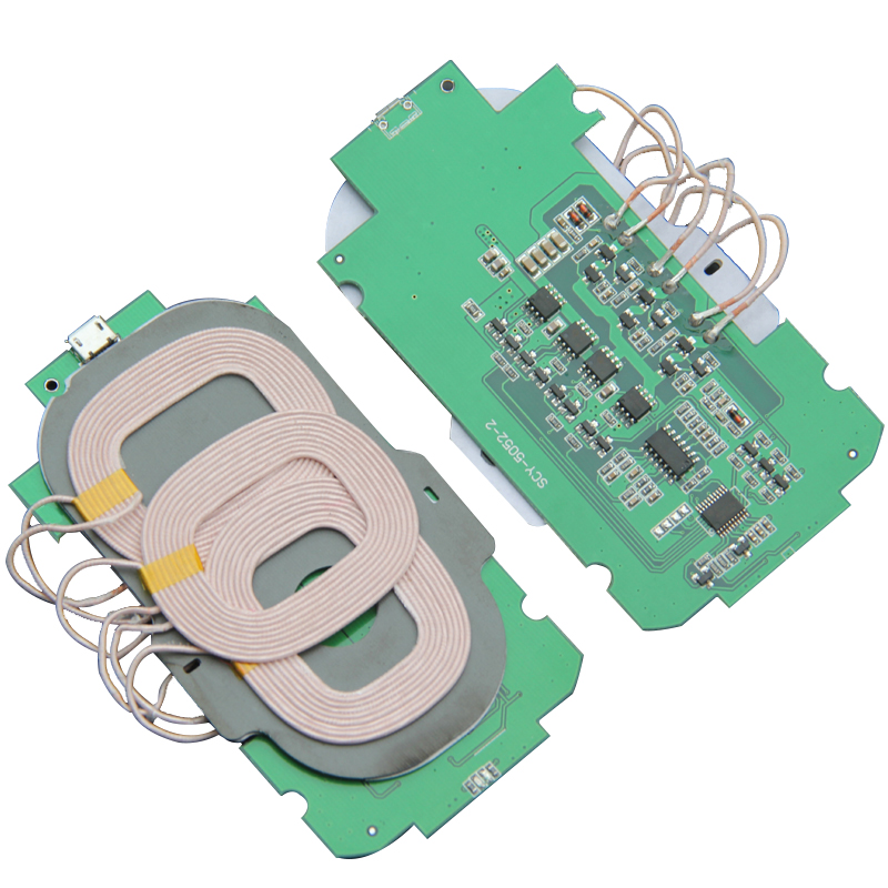 3 Coil Wireless Charger Module  Coil Diy Modified Imported ST Chip Solution Transmitter PCBA Circuit Board