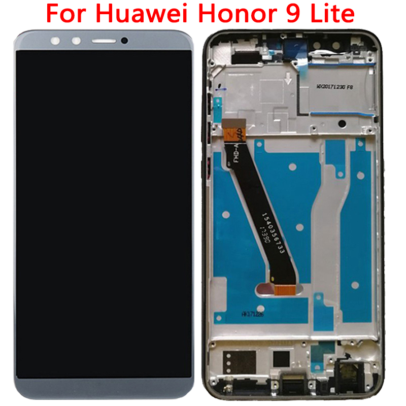 Original 5.56'' LCD For HuaWei Honor 9 Lite LCD Display With Frame Touch Screen Digitizer Assembly Replacement Repair LCD