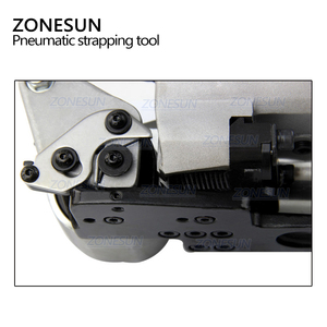 Image 4 - ZONESUN AQD 25 Pneumatic Strapping Machine For 13 19mm PP&PET Straps Hot Melt Strapping Machine