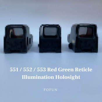 цена на 551 552 553 Red Green Dot Sight Scope Hunting Holographic Reflex Sight Riflescope With 20mm Rail Mount For Rifle Airsoft Gun