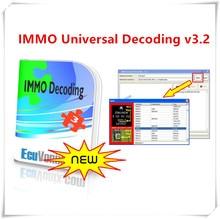 Ecuvonix 3.2 immo decodificação universal, venda quente, v3.2, removedor de immo off + rachadura ilimitada de keygen