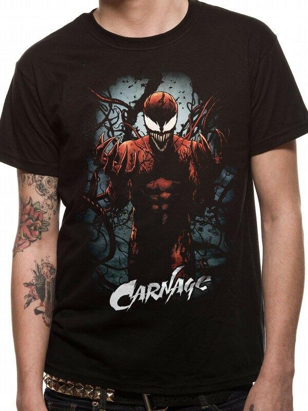 Carnage T-Shirt Venom Avengers Infinity War Iron Man Thor Hulk Spider-Man 3192