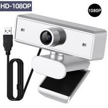 webcam full hd 1080p webcamera usb camera Desktop Laptop Camera web for computer with microphone Windows 10/8/7/XP